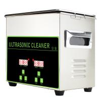 China 3.2L100W Digital Ultrasonic Jewelry Cleaning Machine With Stainless Steel Basket on sale