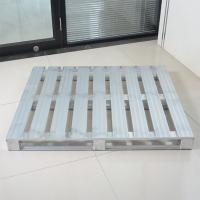 Buy cheap Silver Metal Storage Pallets / Aluminum Steel Stacking Pallets For Storage from wholesalers