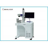 Quality Jeans Bamboo Co2 Laser Marking Machine 2D Working Table 175*175 Mm Scanning Head for sale