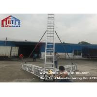 Heavy Duty Stage Truss Roof System Hardening Aluminum Alloy