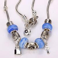 China Wholesales Glass Beaded Necklace on sale