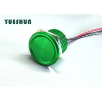 Quality 12v 2 Channel 50ms 22mm Automotive Momentary Piezo Push Button Switch for sale