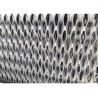 China 11GA Thick Aluminum Perforated Grip Strut Grating For Plank Walkway Stair Tread on sale