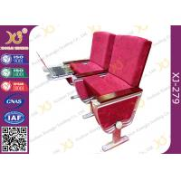 Quality Full Size Foldable Table Conference Hall Chairs With High Speed Rail Design Table for sale