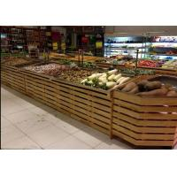 Quality Supermarket Wooden Display Rack for sale