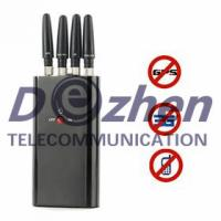 Quality Portable Full-function Cell Phone & GPS Jammer for sale