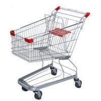 Quality Germany Style Shopping Trolleys 5 Inch Grocery Hand Cart 1020×590×980 mm for sale
