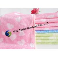 Quality Fade-resistant Microfiber Cleaning Cloth , Printing Microfiber Dishcloths for sale