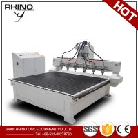 Quality Multi Spindles 1325 CNC Router Machine For Solid Wood / Acrylic Engraving for sale