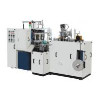 Quality Ultrasonic Automatic Forming Machine , Double Sided PE Coated Paper Cup Making Machine for sale