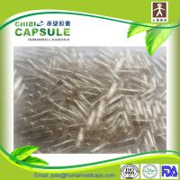 Quality Vegetable capsules transparent size 00# China factory wholesale for sale