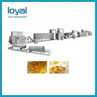Quality Automatic Corn Flakes Processing Line , Cereal Breakfast Home Popcorn Machine for sale