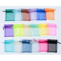 Quality organza gift bag with different colors for sale