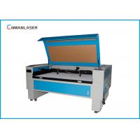 Quality 1300*900mm Blue And White Autofocus 100w Tube CO2 Laser Cutting Machine For Advertise for sale