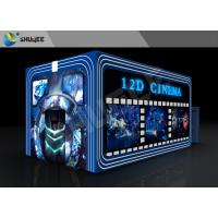Quality Entertainment Virtual 12D Cinema XD Theatre Cabin With 3DOF Eletric Chairs for sale
