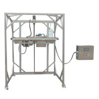 Quality IEC 60529 Ingress Protection Test Equipment IPX1 IPX2 Movable Vertical Rain Drip Box for sale