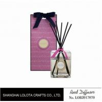 Quality Professional Home Reed Diffuser Square Shaped SGS ITS BV Certificated for sale