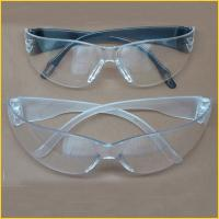 Quality PPE ANSI EN166 PC lens material eye protection safety glasses for sale