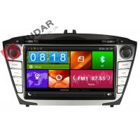Quality Steering Wheel Control Hyundai Ix35 Dvd Player , In Dash Car Entertainment System for sale