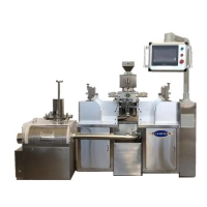 Quality SS304 5rpm 5000PCS/H Experimental Soft Capsule Machine for sale