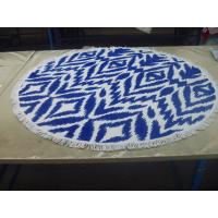 Quality Factory supply Cheap Price Small MOQ 100% cotton  turkish round beach towel for sale