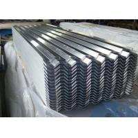 Quality Galvanized Aluzinc 22 Gauge Corrugated Steel Roofing Sheet 600mm-1250mm for sale