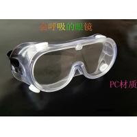 Quality Elastic Band Radiation Safety Goggles , Clear Anti Scratch Safety Goggles for sale