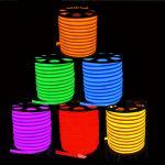 Quality Flex LED Neon light 80leds/M Warm white/cool white/R/G/B/RGB AC85-265V LED Neon rope light for sale