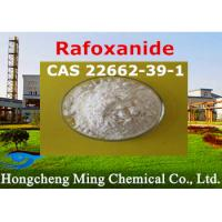 Quality Rafoxanide CAS 22662-39-1 Pharmaceutical Raw Materials Veterinary Medicine Insecticide for sale