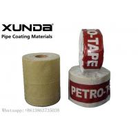 Buy UV Resistance Petroleum Petrowrap Anti Corrosion Tape For Pipe Fitting Flange at wholesale prices