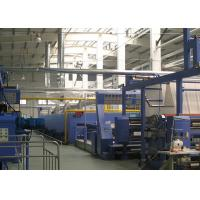 Quality Open width knits Hot air stenter machine , tension free , simple maintenance for sale
