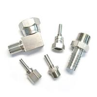 China Customized precision stainless steel pipe fitting on sale