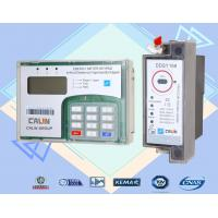 Quality STS Din Rail KWH Meter Isolated Wire Connection Single Phase Electronic Meter for sale