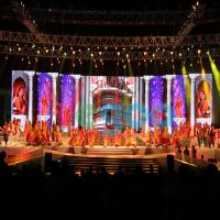 Super Light Stage LED Screens 3 91mm Video Wall Led Display