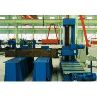 Column End Face Milling Machine for T - beam , H beam ,  Box Column in Welding Production Line Use Milling Head