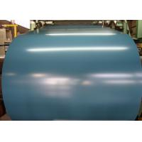 Quality Cobalt Blue Hot Dipped Galvanized Steel Sheet In Coils 55% RAL Colors AZ for sale