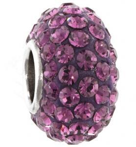 Quality Fashion KJL-BD2887 925 Sterling Silver Charm AAA Czech crystal Beads for Bracelets, Earrings for sale