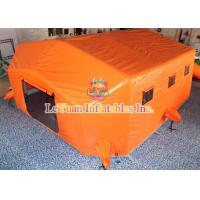 Quality Airtight Outdoor Inflatable Tent / Portable Waterproof Inflatable Medical Tent for sale