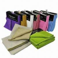 Quality Striped Kitchen Towel with Mesh, OEM Orders are Accepted for sale
