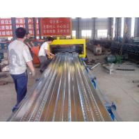 Quality Roof Tile Floor Decking Iron Sheet Making Machine With 5.5 KW Servo Motor for sale