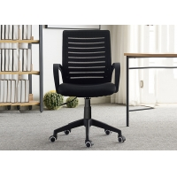 Quality Fabric Ergonomic Flexible Full Upholstered Office Chair for sale