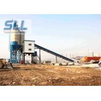Quality HZS60 Fully Automatic Concrete Batching Plant With JS1000 Concrete Mixer for sale