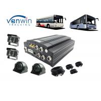 Quality Public Bus Wifi Router 3G Mobile DVR GPS 4CH Hard Disk With Sim Card 8V - 36V for sale
