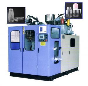 Quality 100-2000ml Small Plastic Bottle Making Machine , Semi Automatic PET Bottle Blowing Machine for sale