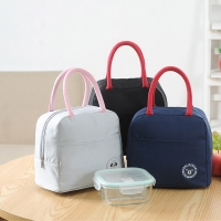 China Adult Aluminium Foil 600D Polyester Insulated Lunch Cooler Bags on sale