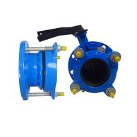 Quality 150-200 Microns Universal Coupling For Pvc Pipe Pe Pvc Flange Adaptor for sale
