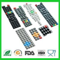 Waterproof Printing TV Remote Control Conductive Silicone Rubber Keypads
