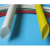 Quality Silicone Coated Fiberglass sleeving 6000V Individual Value -10ºC - +200ºC for sale