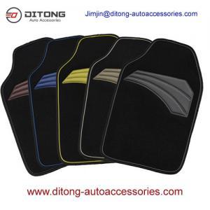 Quality 4PCS No Skid Universal Size PVC Car Floor Mats for sale