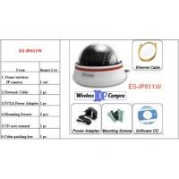 Quality WIfi Pan Tilt IP camera,wifi dome caera With MJPEG video compression ES-IP611W for sale